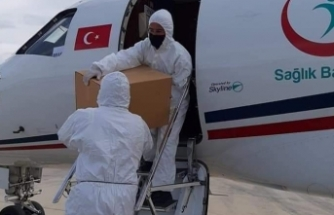 Türkiye'den gönderilen aşı 100 bin oldu