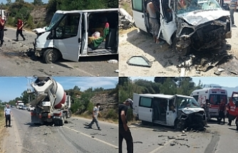Bir kaza daha, 3 kişi yaralandı
