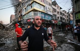 İsrail saldırılarında ölü 103'e, yaralı sayısı 500'e yükseldi