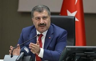 """""""Türkiye'de 35 milyon kişi aşılandı"""""""