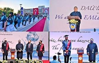 Diplomalar dağıtıldı