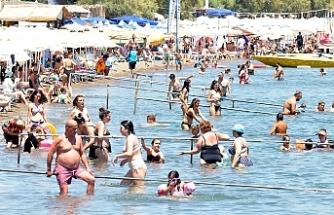 Türkiye'nin turistik yerlerine akın oldu