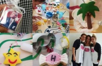 Çilem Dağıstanlı'nın Lefkoşa Merkezi Cezaevi'nde kadın mahkumlar için düzenlediği pasta etkinliği büyük ilgi gördü