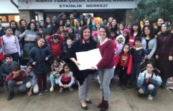 LAÜ öğrencileri, Lefkoşa Çocuk Esirgeme Kurumu'na ziyaret gerçekleştirdi