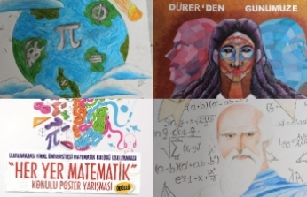 Her Yer Matematik konulu poster yarışması sonuçları açıklandı