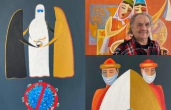 Sanatçı Asgat Dinikeyev, korona virüs salgınına karşı mücadeleye dikkat çekti