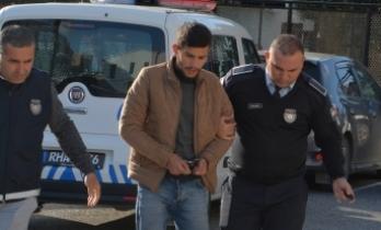 Ercan'da yakalandı