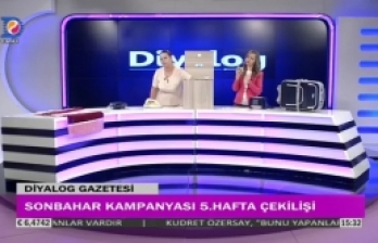 Diyalog Gazetesinin düzenlediği Sonbahar Kampanyasının 5'inci hafta çekilişi yapıldı