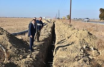 Yeniceköy-Paşaköy-Vadili Kısmi İsale Hattı Yenileme Projesi için start verildi