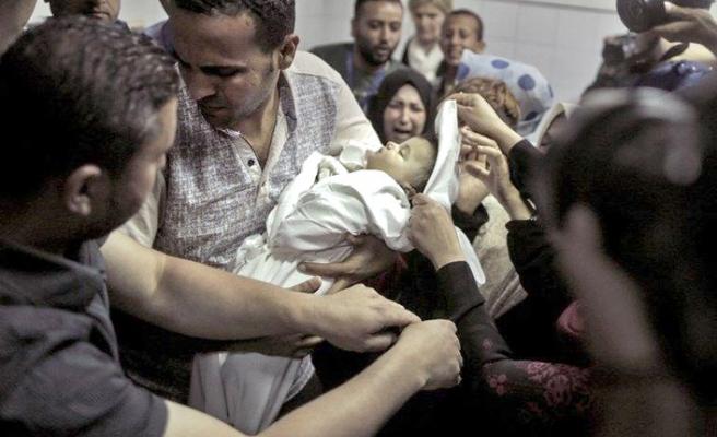 Ölen Filistinli sayısı 61 oldu