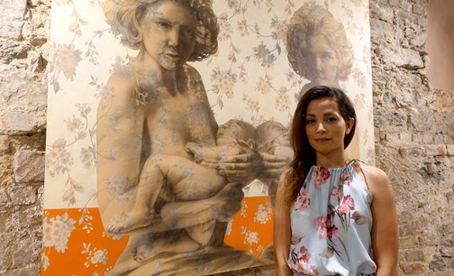 İranlı ve Türk sanatçıların eserlerinin yer aldığı sergi açıldı