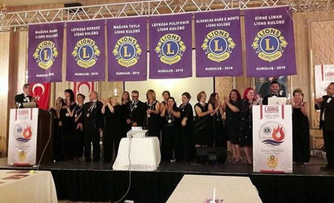 Kuzey Kıbrıs Lions Kulüpleri Federasyonu ortak yeni kulüp kuruluş töreni gerçekleştirildi