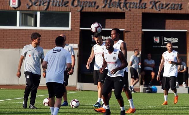 Beşiktaş 16 yıl sonra Fulya'da antrenman yaptı