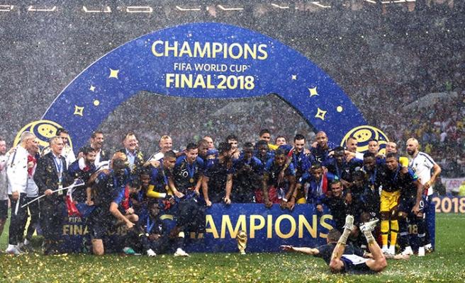 Dünyanın Şampiyonu Fransa