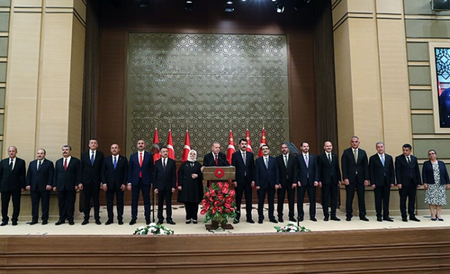 Erdoğan'ın sürpriz kabinesi