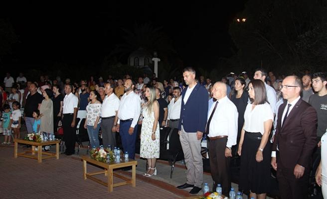 """İskele Festivali"""" içerisinde yer alan Karadenizliler Gecesi yapıldı"""