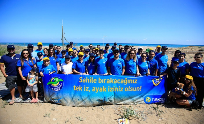 Kuzey Kıbrıs Turkcell, kaplumbağaların hayata tutunma yolculuklarındaki engelleri ortadan kaldırdı