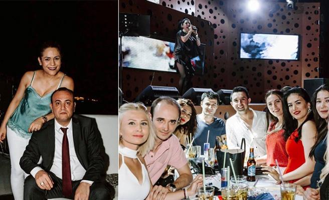 Merit Lefkoşa Casino personeli Soho Club'ta gönüllerince eğlendi