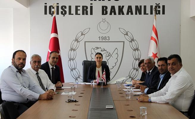 Belediyeler Birliğinden Bakan Baybars'a ziyaret