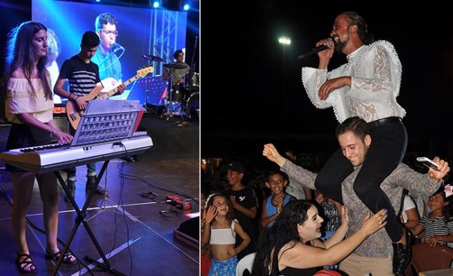 Patates Kültür Sanat Festivali muhteşem bir müzik şölenine ev sahipliği yaptı