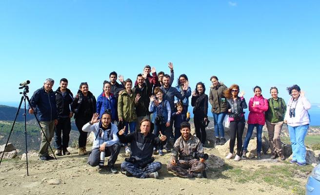 Avrupa Kuş Gözlem günü için 6-7 Ekim tarihlerinde Türkiye ve Kıbrıs'ta 21 farklı noktada etkinlik düzenlendi