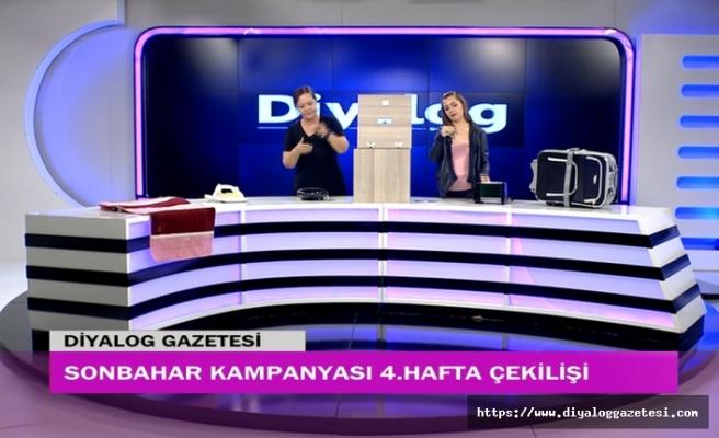 Diyalog Gazetesinin düzenlediği Sonbahar Kampanyasının 4. hafta çekilişi yapıldı