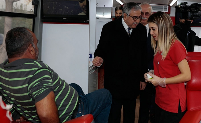Cumhurbaşkanı Akıncı, Dünya Gönüllüler Günü çerçevesinde düzenlenen etkinliğe destek belirtti