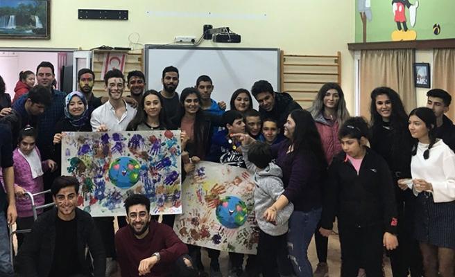 Kıbrıs İlim Üniversitesi özel çocuklarımıza elini uzattı