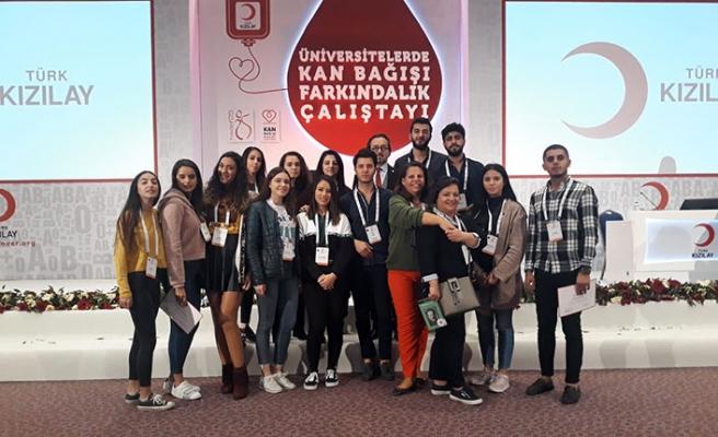 LAÜ öğrencileri Antalya'da Kan Bağışı Farkındalık Çalıştayı'na katıldı