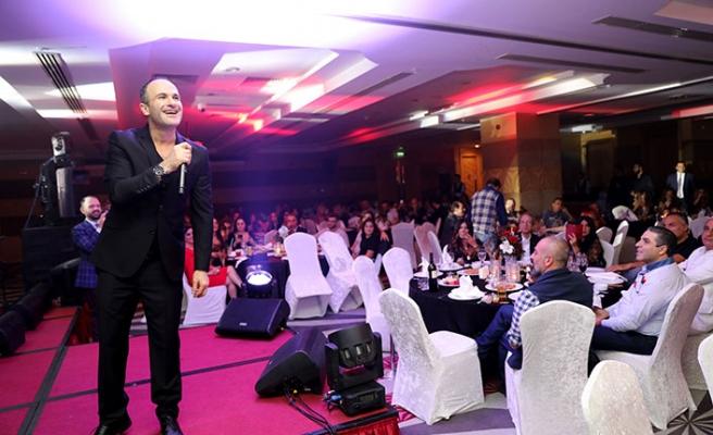Lübnanlı yıldız Ayman Zbıb, Arap hayranlarıyla Merit'te buluştu