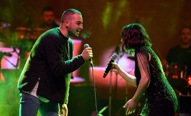 Lütfiye Özipek, LTB Yeni Yıl Konserinde sevenleriyle buluştu