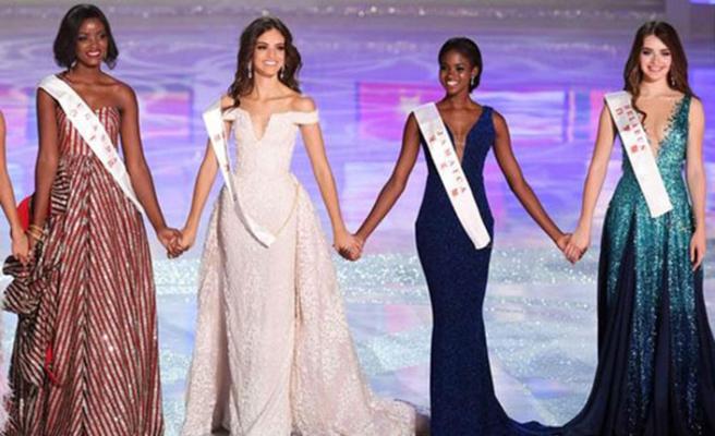 Miss World'ta Türkiye Güzeli Şevval Şahin ilk 30'a giremedi