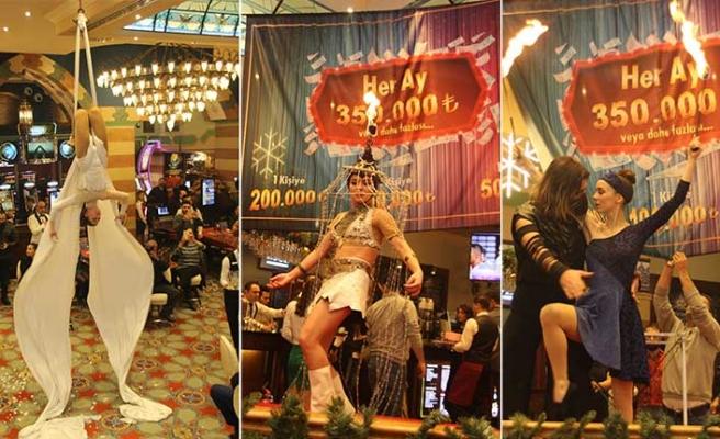 Merit Lefkoşa Hotel&Casino yılbaşı gecesi konukları için yine mükemmel bir görsel show hazırladı