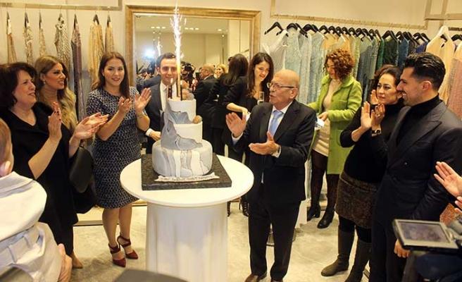 Ünlü modacımız, İstanbul ve Ankara'dan sonra beşinci mağazasını kendi ülkesinde açtı