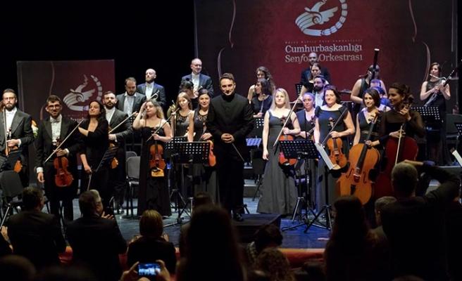 Cumhurbaşkanlığı Senfoni Orkestrası önemli eserleri icra etti
