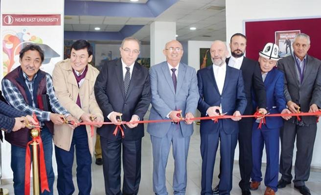 Kırgızistan Sanatçıları Resim Sergisi Yakın Doğu Üniversitesi'nde açıldı