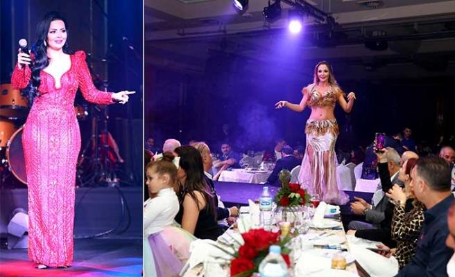 Merit  Hotel'de Ortadoğu ülkelerinden gelen konuklar için özel bir eğlence düzenlendi