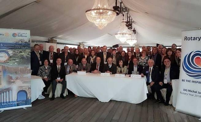 Rotary Cosmopolitan Kulübünün 3 üyesi Paul Harris ödülü aldı