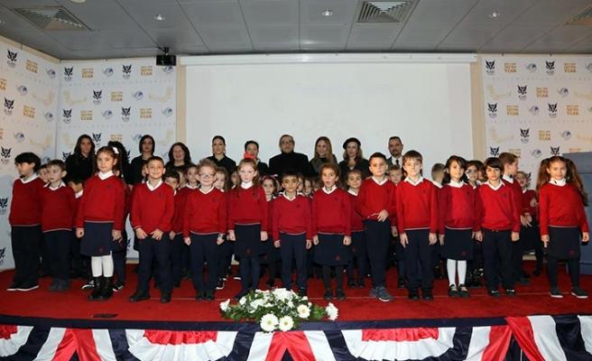 The International Prep School birinci sınıf öğrencileri okuma belgelerini törenle aldı