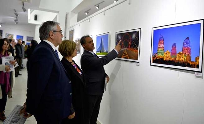 Cumhurbaşkanı Akıncı, FODER'in sergisinin açılışını yaptı