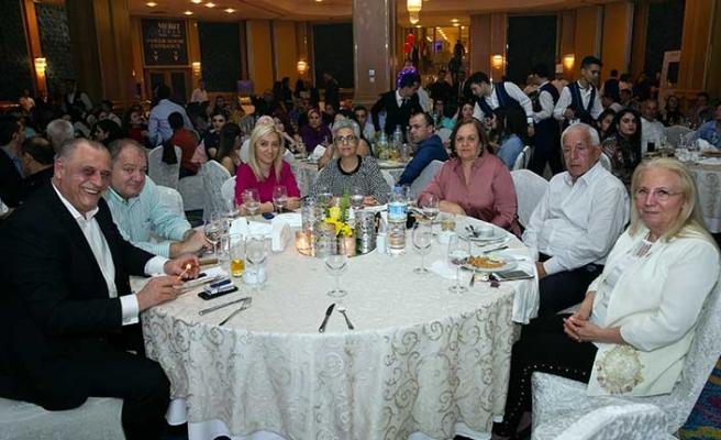 Merit Crystal Cove Hotel'in geleneksel hale gelen personel gecesi muhteşem bir etkinlikle gerçekleştirildi