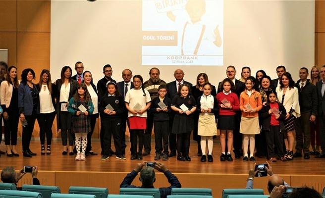Bakanlık ve Koopbank'ın düzenlediği kompozisyon yarışmasında dereceye girenlere ödülleri verildi