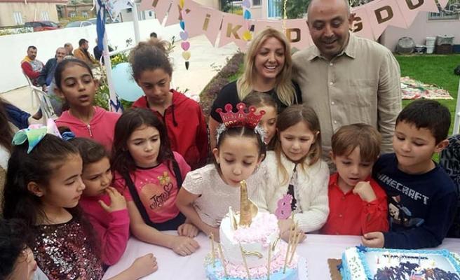 Dr. Fatoş Çimen Şemi'nin dünyalar tatlısı kızı Ada 8'inci yaşını kutladı