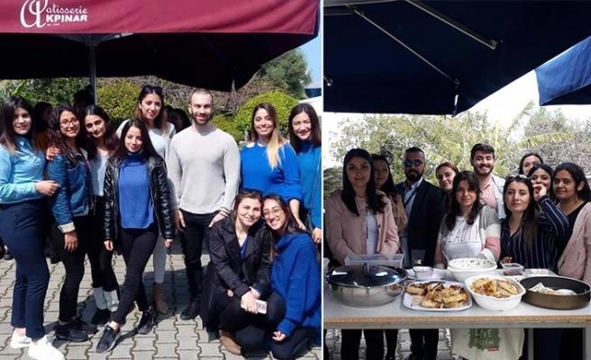 GAÜ öğrencileri SOS Çocuk Köyü yararına kermes düzenledi