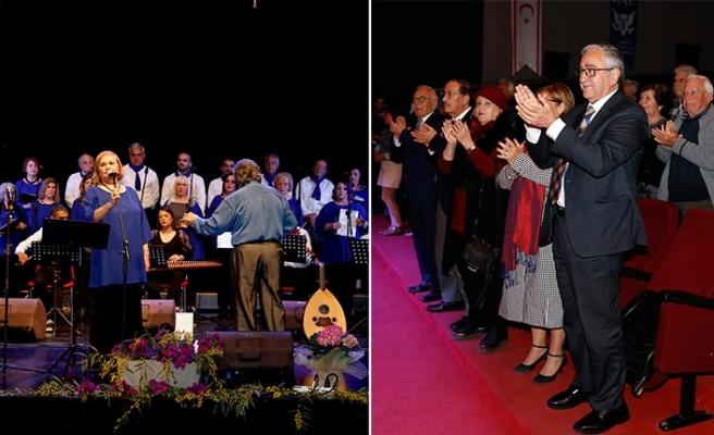 Kıbrıs Türk Müzik Sanat Derneği'nin düzenlediği konser gerçekleştirildi