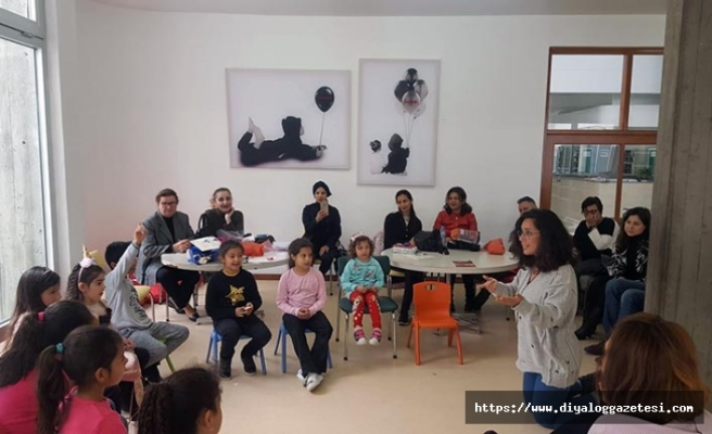Lefkoşa'daki Milli Kütüphane'nin Çocuk Bölümü'nde yapıldı.