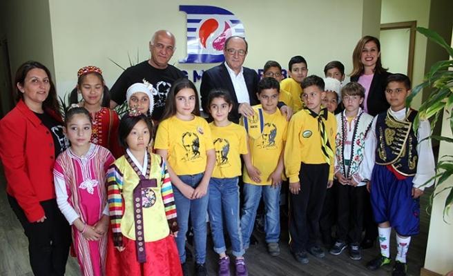 Öğrencilerden Akar'a ziyaret
