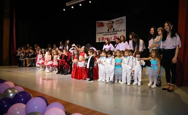 Petit Baby Montessori Okulları'nın 23 Nisan etkinlikleri gerçekleştirildi