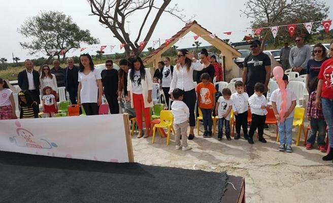 Bafra Gelişim ve Eğitim Merkezi öğrencileri ve velileri 23 Nisan'ı birlikte kutladı