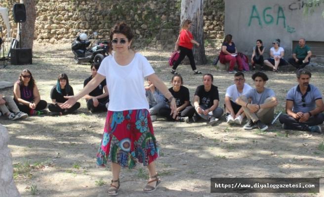 Çağlayan Parkı'nda 19 Mayıs Atatürk'ü Anma Gençlik ve Spor Bayramı çerçevesinde bir etkinlik düzenlendi